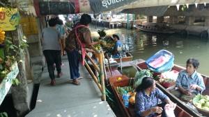 Khlong Lat Mayom Floating Market – the closest to Bangkok floating market